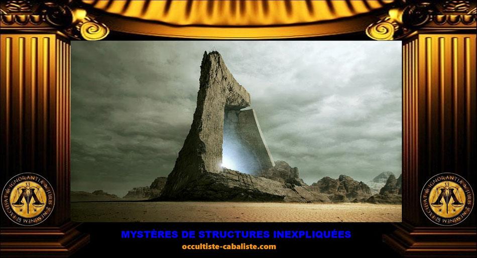Mystères de structures inexpliquées, www.occultiste-cabaliste.com