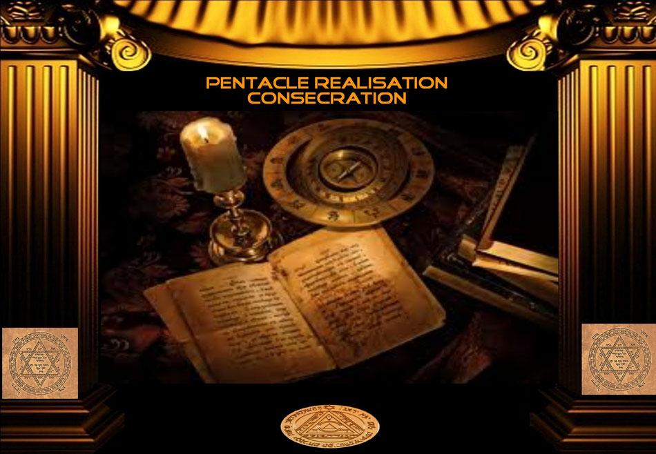 Pentacle réalisation consécration