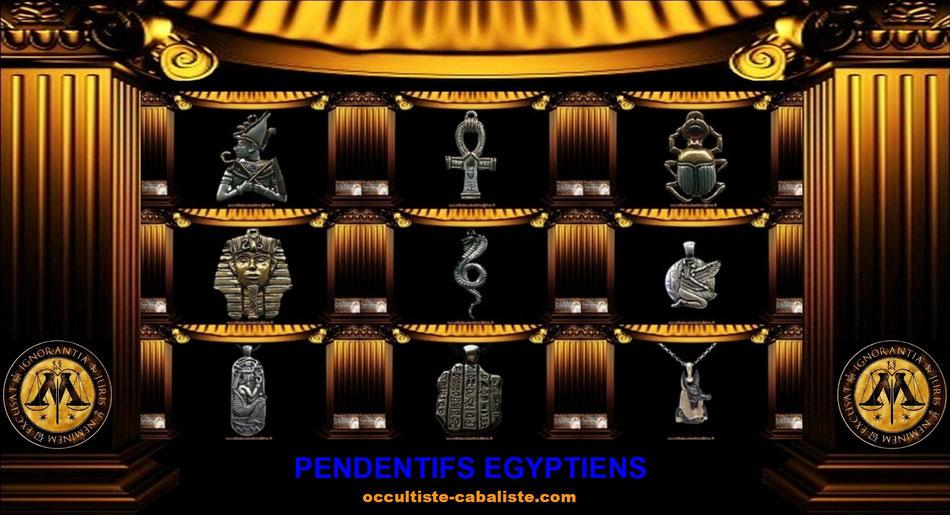 Pendentifs Magiques Égyptien