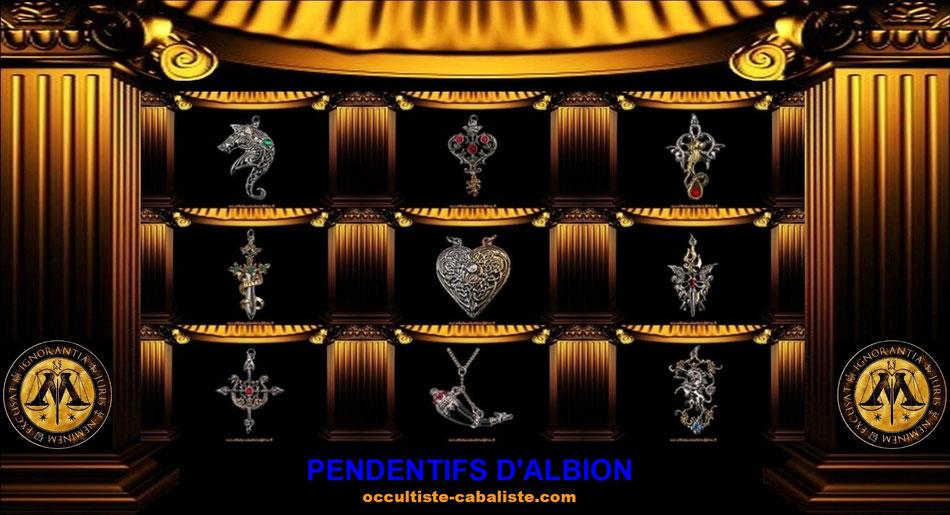 Pendentifs magique d'Albion