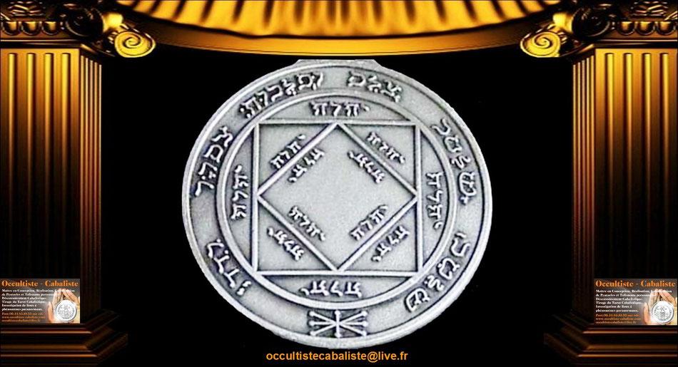Médaille Pentacle du Soleil.