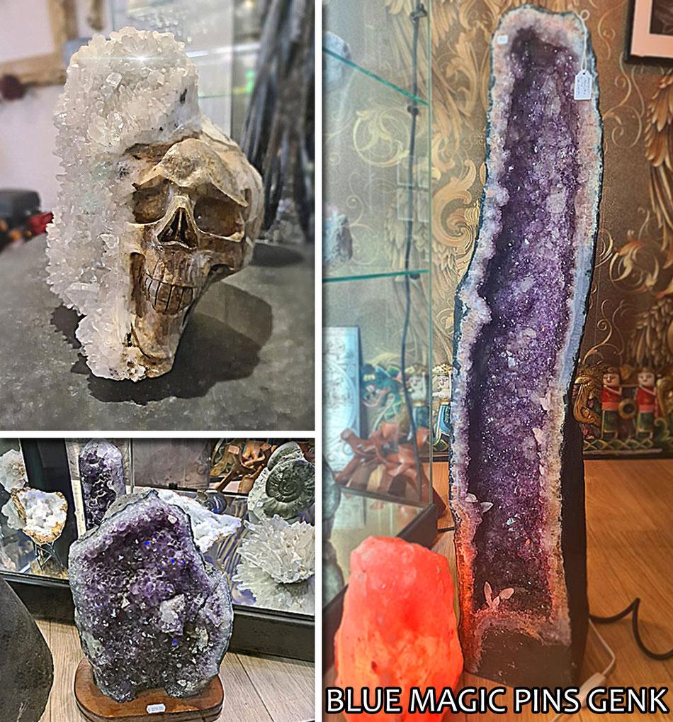 mineralen te koop kristallen geode genk stones spiritual crystals spirit amethyst  edelstenen