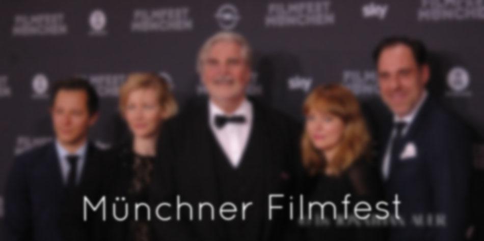 MÜNCHNER FILMFEST  |  Auf dem Münchnner Filmfest - alle Jahre wieder