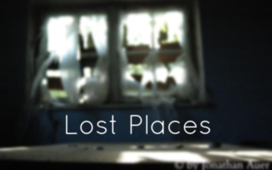 LOST PLACES - Fotoprojekt  |  Im Rahmen eines Schulprojekts habe ich über ein halbes Jahr verlassene Orte gesucht, gefunden und dokumentiert.