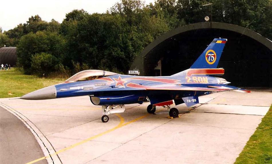 F-16 2ème Escadrille