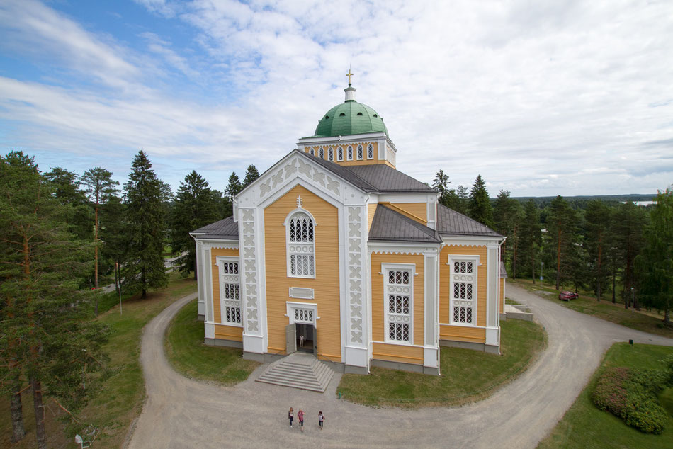 The largest wooden church in the world
