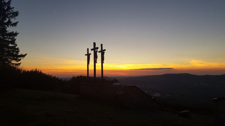 Sonnenuntergang Apri 2018