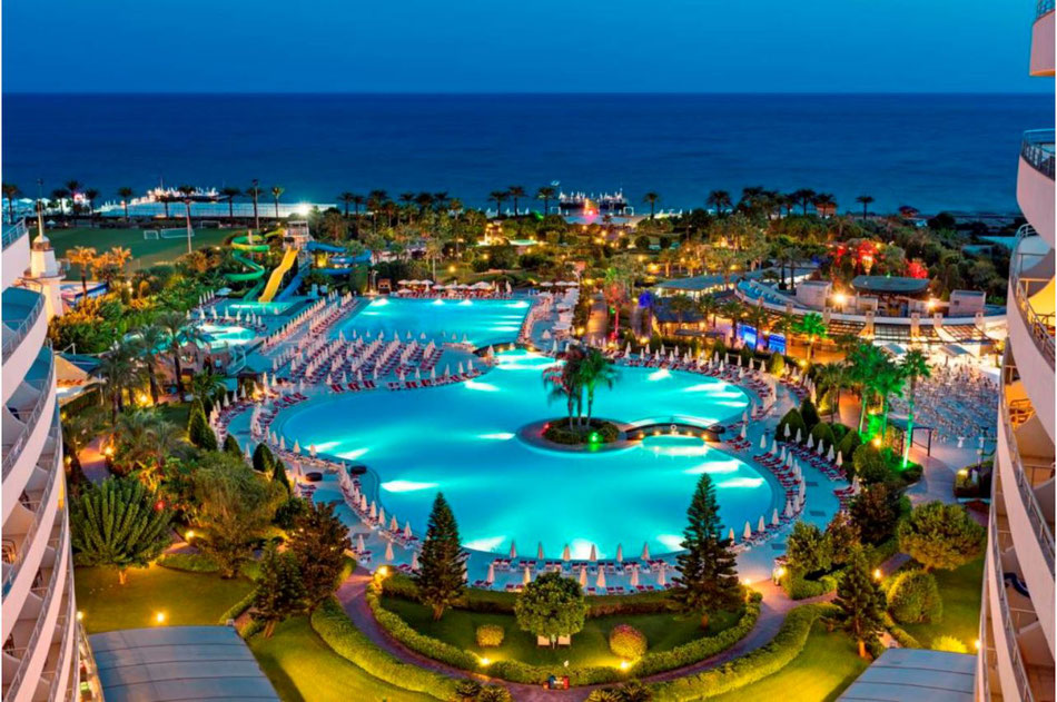 Unser Hotel Miracle Resort in Lara, Antalya - vielversprechend, nicht wahr?
