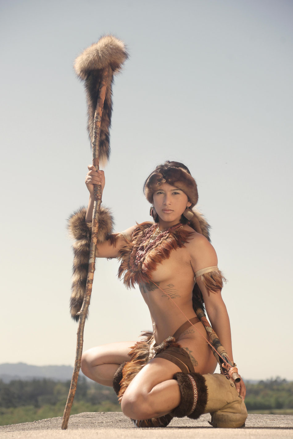 Katty Vera / American Native Hunter