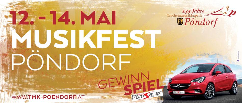 Musikfest 2017 Pöndorf