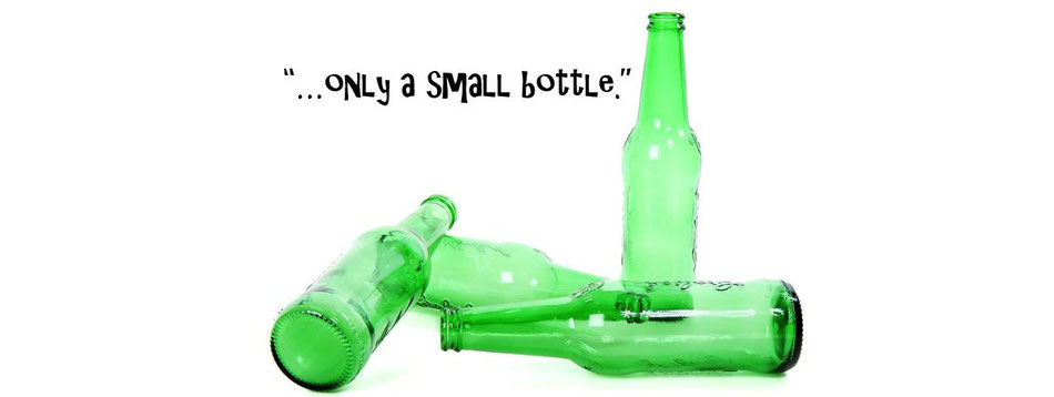 """...only a small bottle."" Insufficient rationale to excuse an abusive relationship"