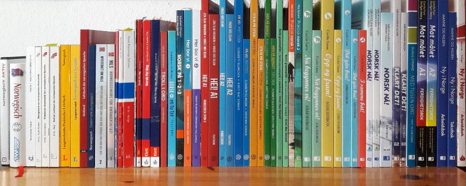 Übersicht Norwegisch-Lehrbücher