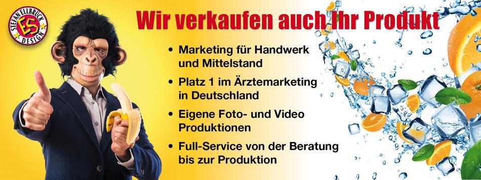 Marketing für Handwerk und Mittelstand. Platz 1 im Ärztemarketing in Deutschland. Eigene Foto- und Video-Produktionen. Full-Service von der Beratung bis zur Produktion.