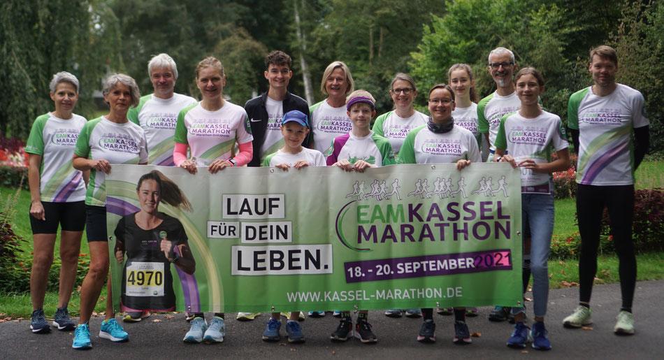Kassel Marathon Stützpunkt Rotenburg 2021