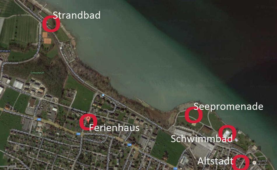 Ferienhaus Ferienwohnung Bodensee Arbon