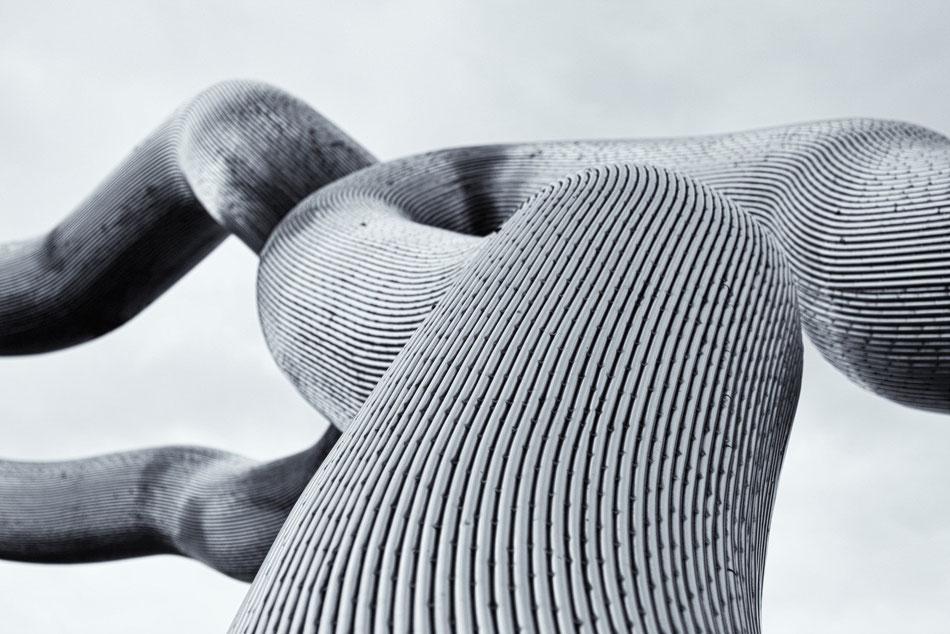 Skulptur im Park......