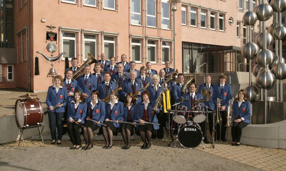 Gruppenbild Musikverein Schwaikheim 2006