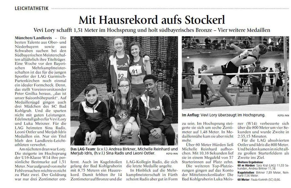 Münchner Merkur vom 18.02.2017