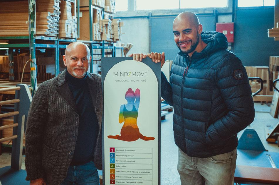 Die Gründer Thomas Hoffmann und Malik Arrendell