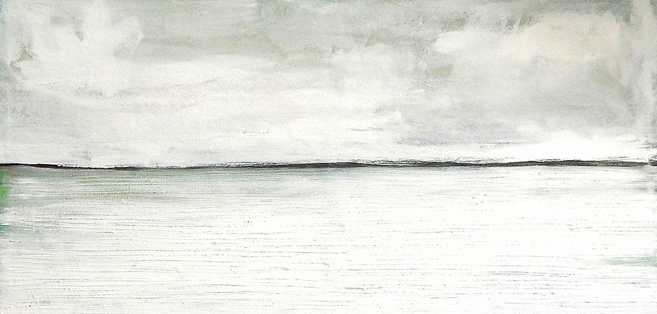 weiße gemälde 100 x 200 cm