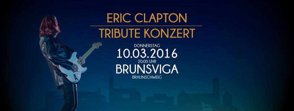 Veranstaltung braunschweig, Brunsiga, März, Februar, Eric Clapton tribute Band, 10.03.2016