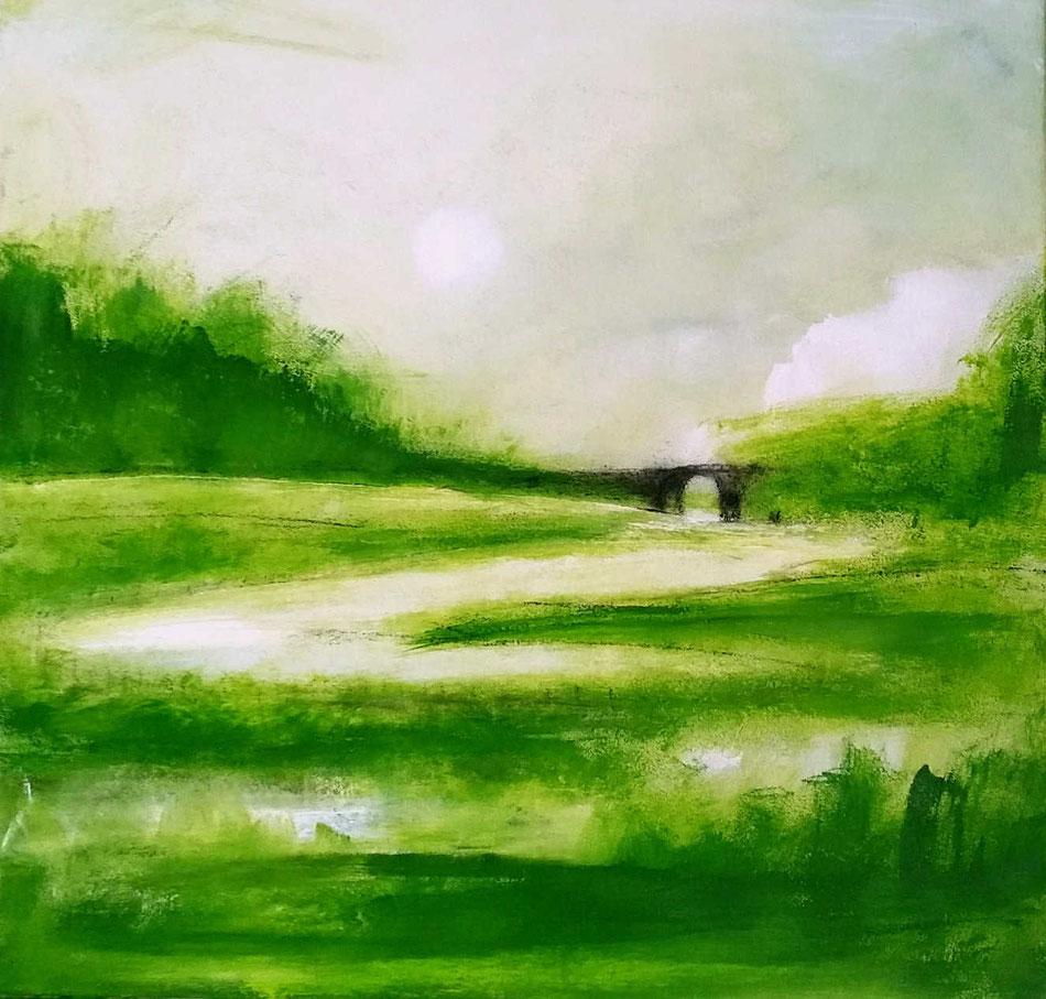 grünes Bild Platz