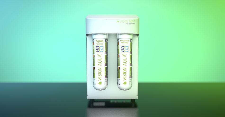 VA- Mini Wasserfilter - Reinstwasser für die Küche