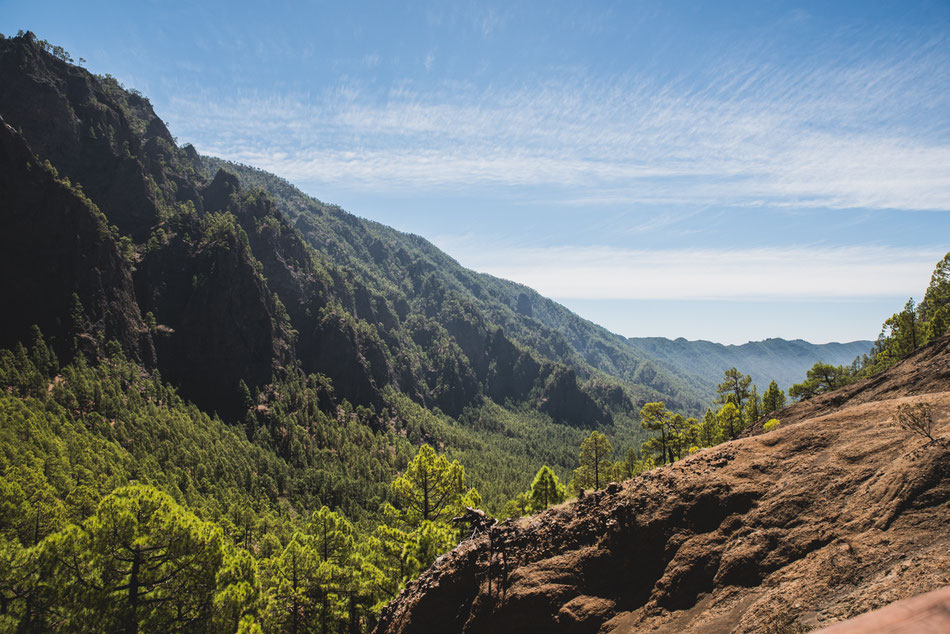 La Caldera de Taburiente. La Palma