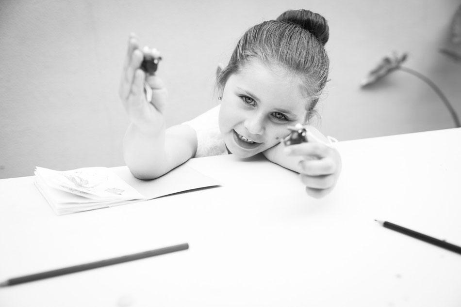 Sesión de fotografía infantil en Sevilla
