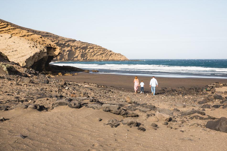 Sesión de embarazo en familia, Tenerife