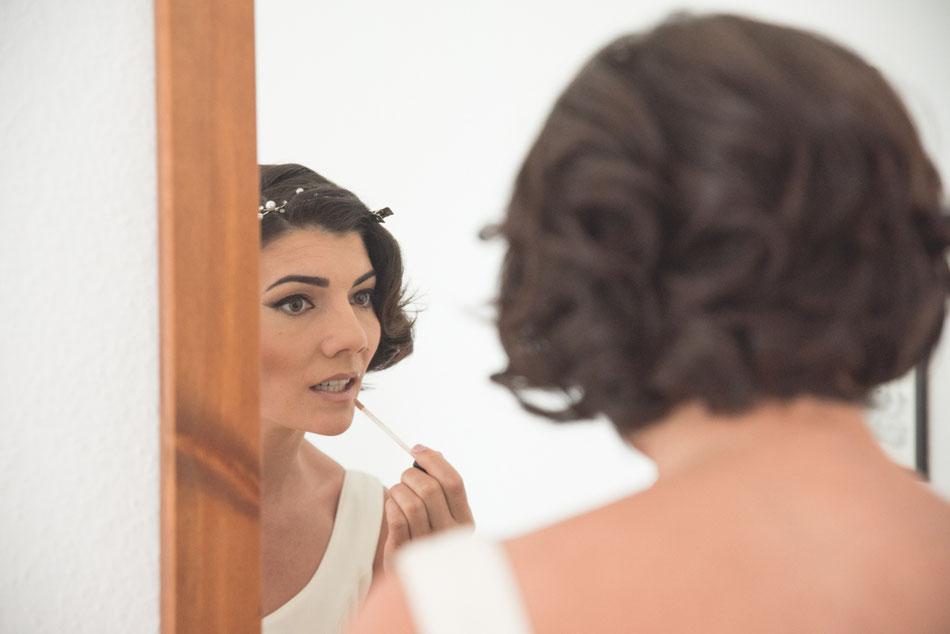 Preparación de la novia. Boda en Tenerife