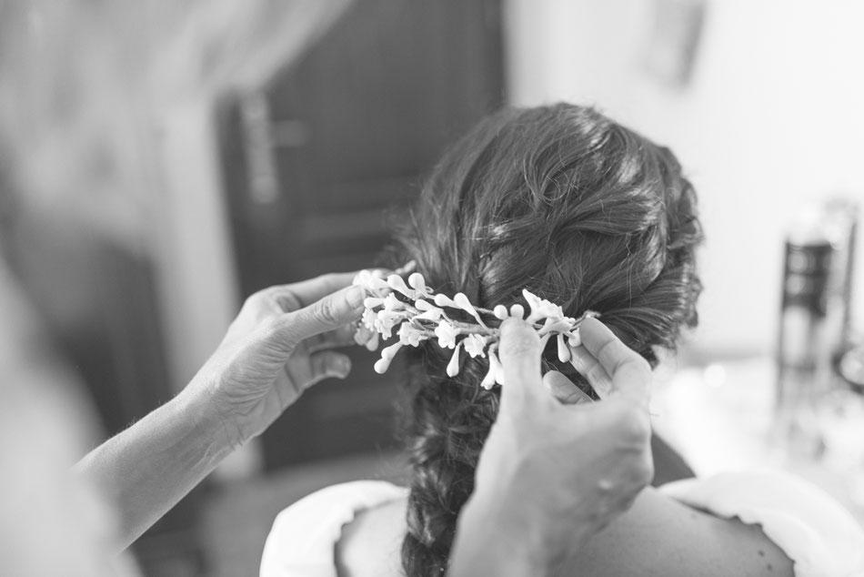 Preparación novia, Boda en Sevilla