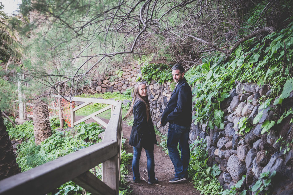 Fotos de pareja en Tenerife