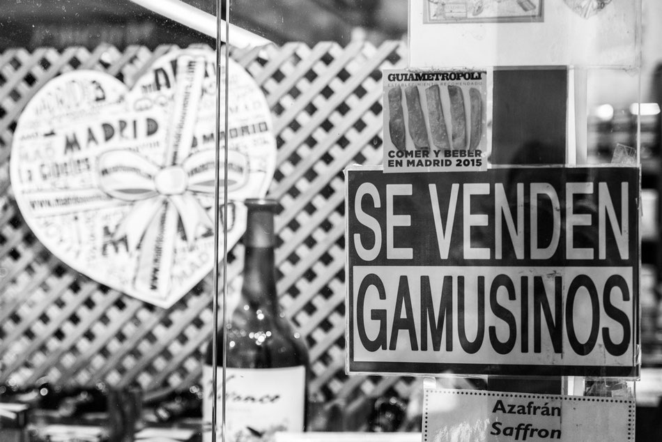 Gamusinos en Madrid.