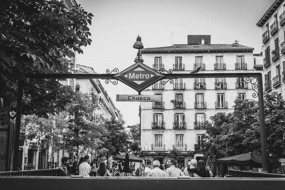 Chueca, Madrid.