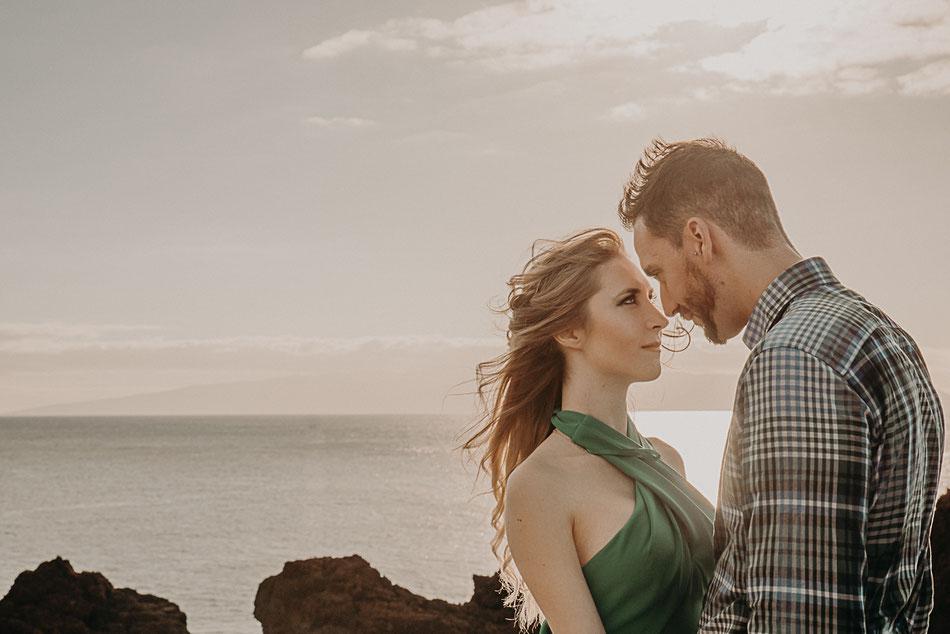 Sesión de fotos pareja en Punta de Teno, Tenerife Mónica Lavera