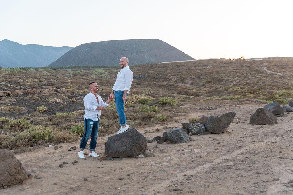 Sesión fotos pareja gay Tenerife