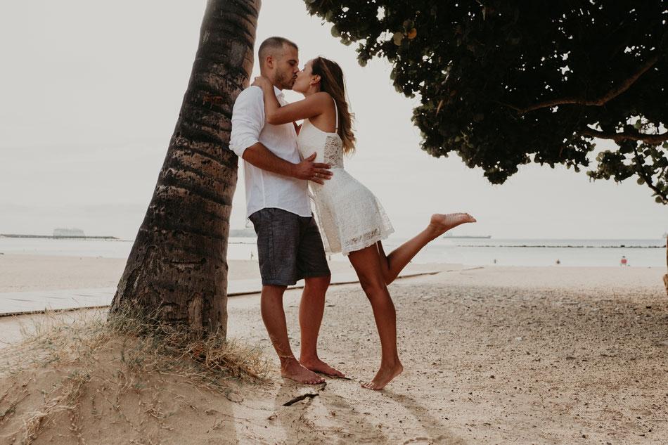 Sesión de pareja en la playa, sesión de pareja en Tenerife