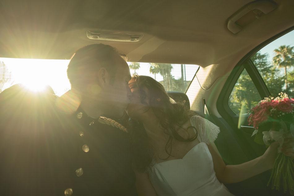 Fotografía de bodas en Tenerife, boda en Sevilla, recién casados