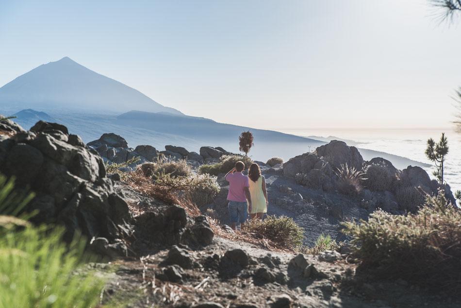 Sesión de Pareja, Teide, Tenerife