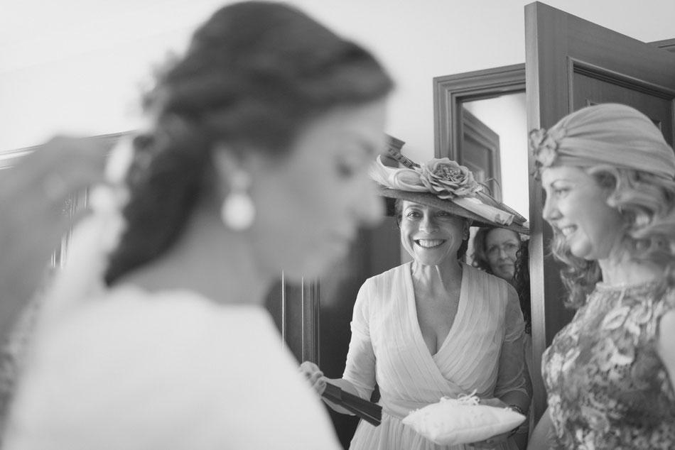 Preparativos novia, boda en Sevilla