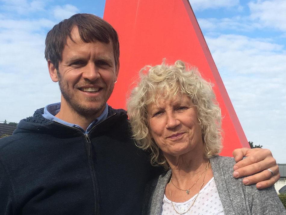 Tatkräftige Unterstützung erhält unser SV-Team durch Herrn Stefan Eckoldt und Frau Elke Voss.