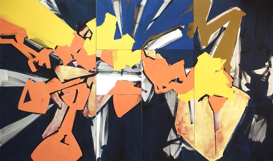 Kunst, Malerei, Anthony Werner, Mixküche