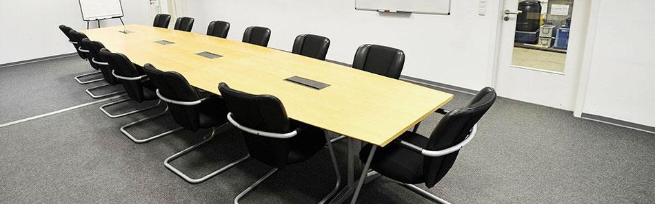 Konferenzraum in der Hauptzentrale von Gebers Energietechnik