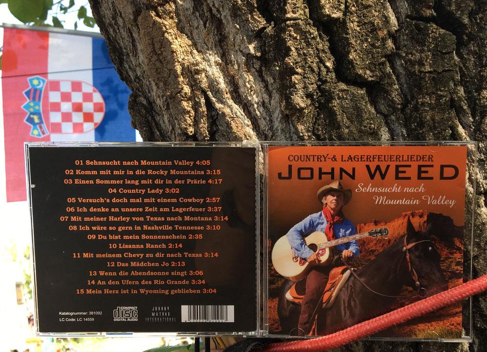 """Seine wunderbare CD """"Sehnsucht nach Mountain Valley"""""""