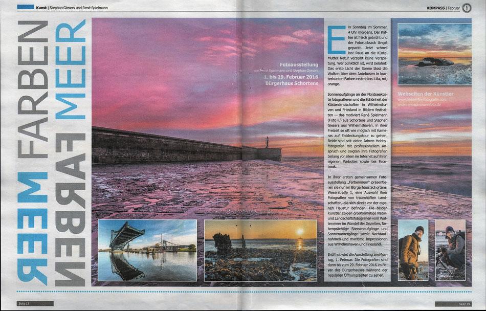 Kompass, Ausgabe Februar 2016