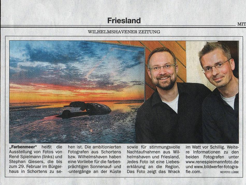 Wilhelmshavener Zeitung, 3. Februar 2016