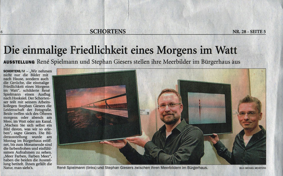 Jeversches Wochenblatt, 3. Februar 2016