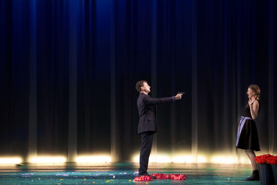 PREMIERE AM 20. JANUAR 2018  die Oper DER WILDSCHÜTZ von Albert Lortzing feiert am 20. Januar Premiere im Gärtnerplatztheater. Albert Lortzing demaskiert in seinen Werken bürgerlich-selbstgerechte Scheinmoral und adelige Sittenlosigkeit, bleibt aber, trot