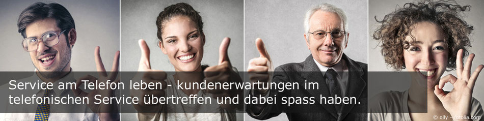 Telefontraining, Servicetraining, Kommunikationstraining, Call Center